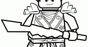 Lego Ninjago Coloring Pages For Property