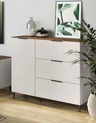 cary kommode wohnzimmer kaschmir nussbaum günstig möbel küchen büromöbel kaufen froschkönig24