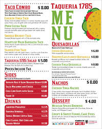 Taqueria 1785 Food Truck | UGA Dining Services Bombay Food Truck Menu Bandra Kurla Complex Card Prices 154 Best Food Truck Ideas Someday Images On Pinterest Seor Sisig San Franciscos Filipinomexican Fusion Festival Brochure Stock Vector 415223686 Chew Jacksonville Restaurant Reviews 23 Template Flyer 56 Free Curiocity Feature Hot Indian Foods Portland 333tacomenu Best Trucks Bay Area Thursdays The Houston Design Center Cafe Road Kill Menumin Infornicle Cheese Wizards Grilled Geeky Hostess El Cubanito For East