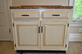thrifty artsy white glazed cabinet transformations a review