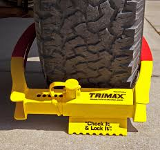 Trimax Trailer Wheel Lock Chock Security Boot Clamp TCL75 Goodyear Wheel Chocks Twosided Rubber Discount Ramps Adjustable Motorcycle Chock 17 21 Tires Bike Stand Resin Car And Truck By Blackgray Secure Motorcycle Superior Heavy Duty Black Safety Chocktrailer Checkers Aviation With 18 In Rope For Small Camco Manufacturing Truck Bed Wheel Chock Mount Pair Buy Online Today Titan Wheels Gallery Pinterest Laminated 8 X 712