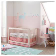crib bedding set forest frolic 4pc cloud island pink target