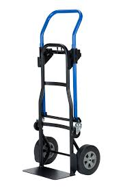 100 Hand Truck Vs Dolly Harper S 500 Lb Capacity Quick Change Convertible