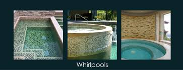 glass tile in swimming pool design what you should