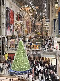 Christmas Tree Types Canada by Swarovski Christmas Tree At Toronto Eaton Centre During Christmas