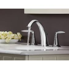 Kohler Bathroom Sink Faucets Widespread by Kohler K 45102 4 Cp Alteo Polished Chrome Two Handle Widespread
