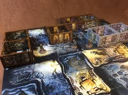 3d Printed Dungeon Tiles by Zombicide Black Plague 3d Scenery It U0027s Art In Part