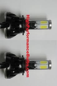9005 hb3 led headlight kit 4000 lumen 4 led design