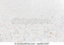Terrazzo Floor Background White Texture And Surface Of Stock