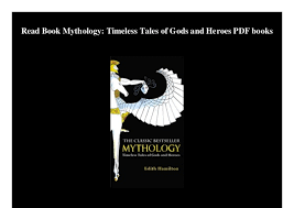 Read Book Mythology Timeless Tales Of Gods And Heroes PDF Books