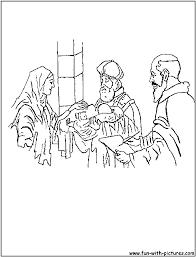 Zacharias Elizabeth Coloring Page Download