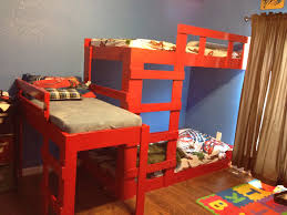Bunk Beds Columbus Ohio by Diy Bunk Bed For 3 Boys Or 3 Girls Since We Aren U0027t Sure What The