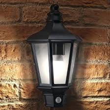 outdoor wall lighting motion sensor vintage security light lights