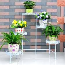 Outdoor Patio Plant Stands by Garden Plant Display Stands Uk Garden Plant Stand Balcony Planters