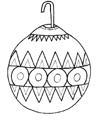 Christmas Ornament Coloring Pages 3
