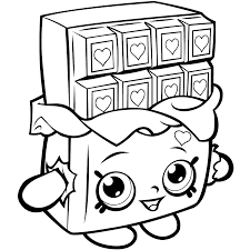 Shopkins Season 1 Coloring Pages