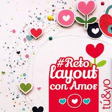 Reto De Febrero 💕 Layout Con Amor Anita Y Su Mundo