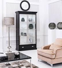 vitrine holz schrank klassische vitrinen holz schränke design wohnzimmer glas