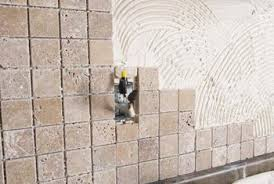 how to lay tumbled tile on a wall home guides sf gate