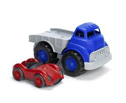 Green Toys Flatbed With Race Car, Vehicles - Amazon Canada Green Toys Cstruction Soperecofriendly Educational Toys For Drop Go Dump Truck Vtech Puzzle Made Safe In The Usa Walmartcom Are Redhot This Holiday Season Toy Scooper The Animal Kingdom Begagain John Deere Thrive Market Recycling Review Youtube Whole Earth Provision Co Pink Dumper Dotz