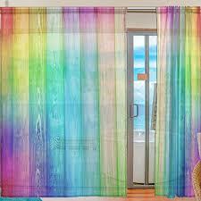 aeici vorhänge schlafzimmer gardinen mit ösen motiv