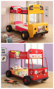 100 Fire Truck Loft Bed Let Your Childs Imagination Run Wild With This Magical School Bus