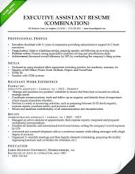 Administrative Assistant Resume Example Australia Executive Resumes Examples Objective