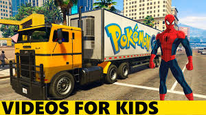 COLORED POKEMON TRUCKS With Spiderman In Cartoon For Kids And Nursery  Rhymes Songs For Children Fire Truck Visit Kid 101 Toys Tractors And Cstruction Tractor Videos For Kids Kids Truck Youtube Big Giant Loading Videos For Channel Unboxing Rmz City 164 Dhl Video Die Cast Detroits Rock Releases Nostalgic First Kiss Video From New Garbage Song Children Sr Trucks Cartoon Children Learn Shapes Wheel Loader Exvatorcar Toydump Truckcement Mixer Excovator Clipart Kid Free On Dumielauxepicesnet