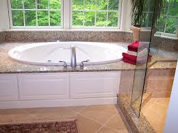 Tiling A Bathtub Deck by Granite Tub Deck Central Tile U0026 Terrazzo Granite Carpet