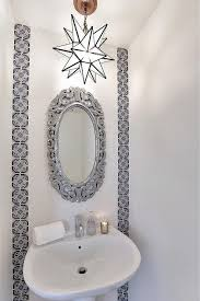Blue Mosaic Bathroom Mirror by Silver Mosaic Mirror Design Ideas