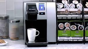 Keurig K150 Office Coffee Machine UK 4 Box Wire Rack Starbucks
