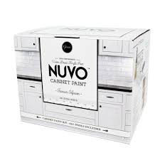 Nuvo Cabinet Paint Video by Nuvo 2 Qt Titanium Infusion White Cabinet Paint Kit Fg Nu Titan