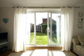 Front Door Curtains Sliding Glass Doors Curtains Size