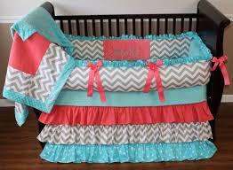 baby crib bows tags crib bows navy and coral baby bedding