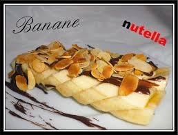 dessert rapide chocolat banane dessert minute banane nutella fait maison par lilouina