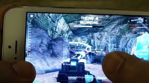 iphone 5 modern combat 4 zero hour gameplay retina display