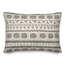 Elmwood Pattern Outdoor Lumbar Pillow