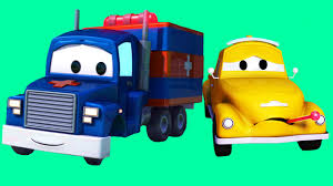 Carl Transform And His Friends In Car City: Tom The Tow Truck, The ...