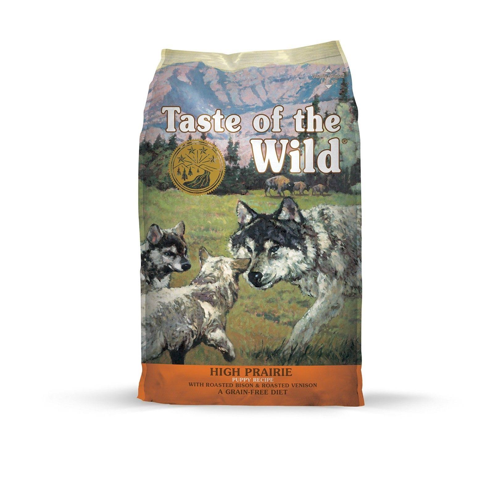 Taste of The Wild High Prairie Puppy Food 15 lbs.