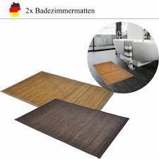 badezimmer vorleger matten aus bambus günstig kaufen ebay
