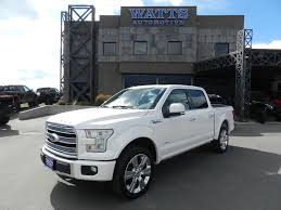 2017 Used Ford F-150 LIMITED At Watts Automotive Serving Salt Lake ... Used Ford Trucks At Truck Dealers In Wisconsin Ewalds Diesel Pickup For Sale Used Ford F250 Diesel Trucks 2016 F150 4wd Supercrew 145 Xlt North Coast Auto Mall 2017 Super Duty F350 King Ranch Watts Automotive Lifted F 150 Xlt 44 44351 With 2005 Supercab 133 Lariat Rahway 2011 Ford Supercrew Cab Lariat 4x4 World 2018 Park Group Serving Plymouth In 2006 Stx Cleveland 2013 Rev Motors Portland Iid 17939875 2007 Premier Palatine Il 2015