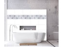 infactory fliesenaufkleber bad selbstklebende 3d bordüre