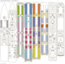 Azamara Journey Deck Plan 2017 by Crystal Symphony Deck Plans Diagrams Pictures Video