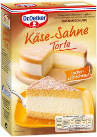 dr oetker käse sahne torte 385g