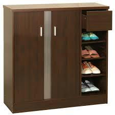 Baxton Studio Warren Shoe Cabinet by Simple Elegant Wooden Shoe Rack Cupboard Design Ideas Jpg 1 000