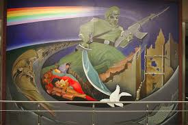 Denver International Airport Murals Painted Over by New Page 1