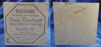 asbestos floor tile flooring flickr