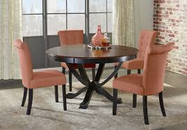 Orland Park Black 5 Pc Dining Set With Orange Chairs - Dining Room ... Ding Table And Chairs In Style Of Pierre Chapo Orange Fniture 25 Colorful Rooms We Love From Hgtv Fans Color Palette Leather Serena Mid Century Modern Chair Set 2 Eight Chinese Room Ming For Sale At Armchairs Or Side Living Solid Oak Westfield Topfniturecouk Zharong Stool Backrest Coffee Lounge Thrghout Ppare Dennisbiltcom Midcentury Brown Beech By Annallja Praun Lumisource Curvo Bent Wood Walnut Dingaccent Ch Luxury With Walls Stock Image Chair Drexel Wallace Nutting Mahogany Shield Back