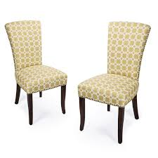 100 Birch Dining Chairs Adeco Green Floral Living Room Side Chair With