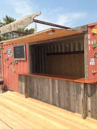100 Containers Turned Into Homes Shipping Container I Turned Into A Bar Which Was Destroyed